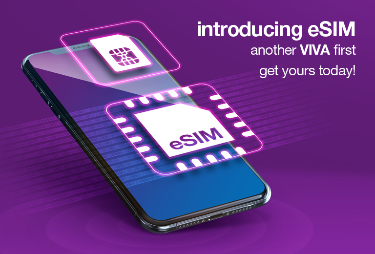 VIVA redefines your mobile experience with eSIM